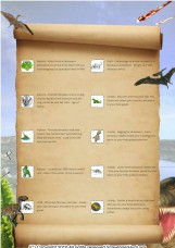 Dinosaur Field Guide for Nature Trackers