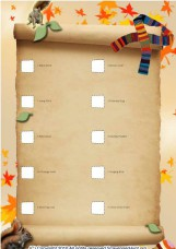 Gracie`s Autumn Treasure Hunt